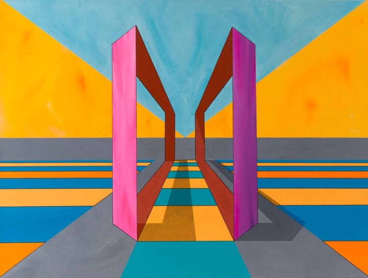 """""""The Gates Of The Unconscious: piece 4"""" - Image 0"""