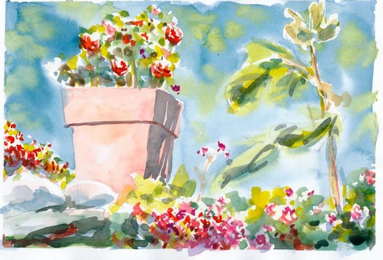 Italian Flower Garden 2 - Image 0
