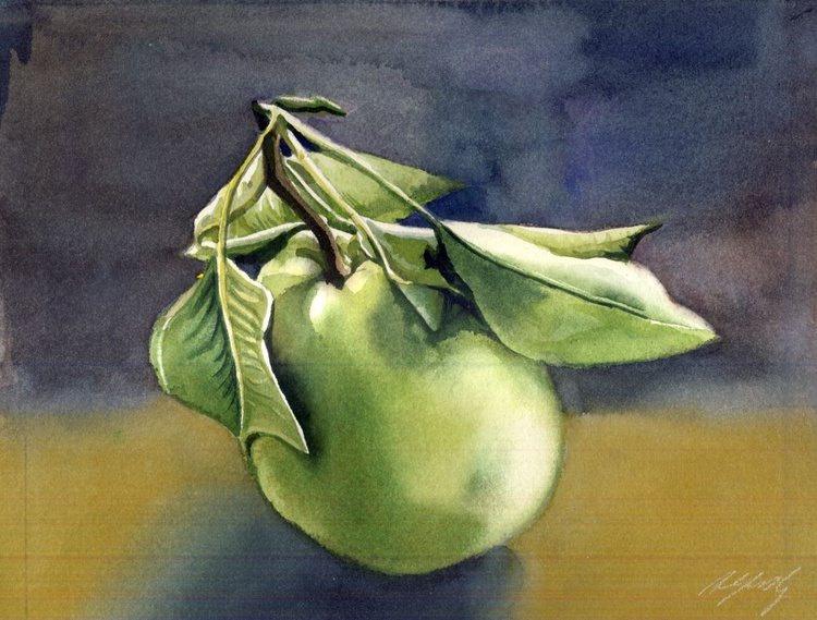 still life with pear - Image 0