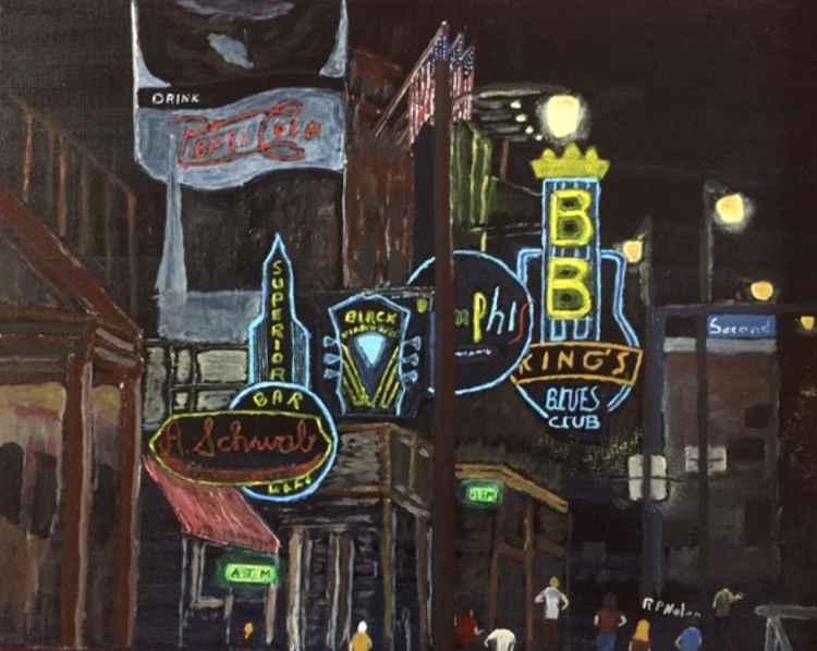 Beale Street, Memphis, TN -