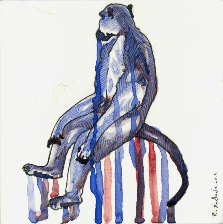 Blue Monkey - Image 0