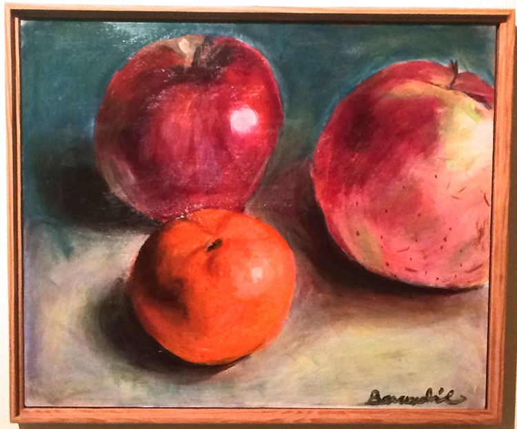 Tangerine with apples - Image 0