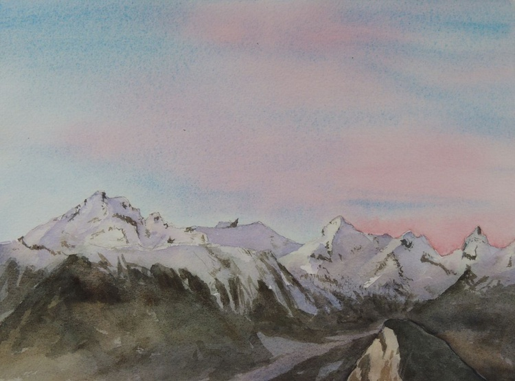 Alpine sunset - Image 0