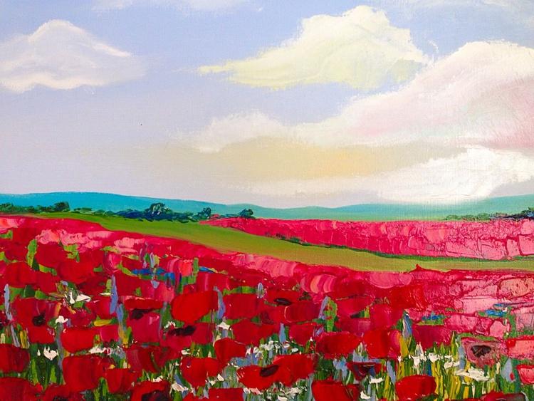 Poppy field - Image 0