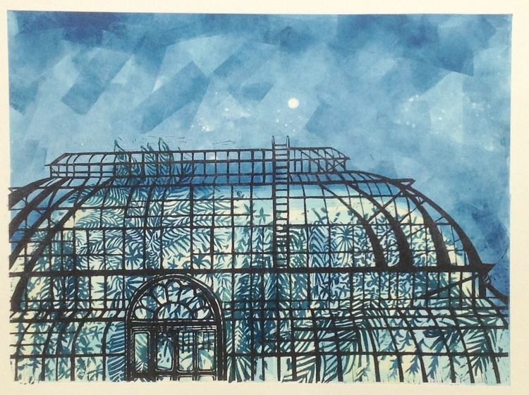 The Palm House at Twilight - Image 0