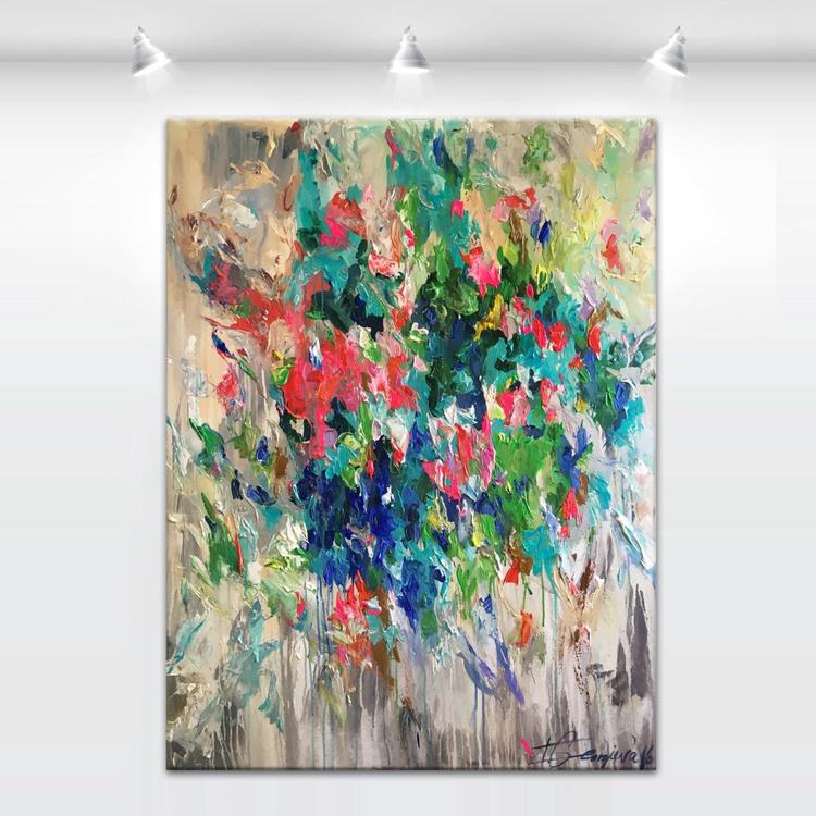 """'Flores hiems' - 36x48"""" - Image 0"""