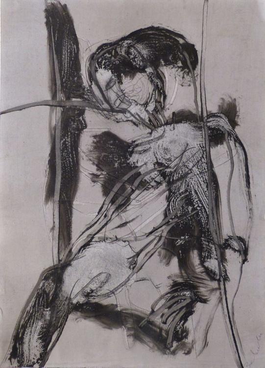 Ink on Paper #281, 42x58 cm - Image 0