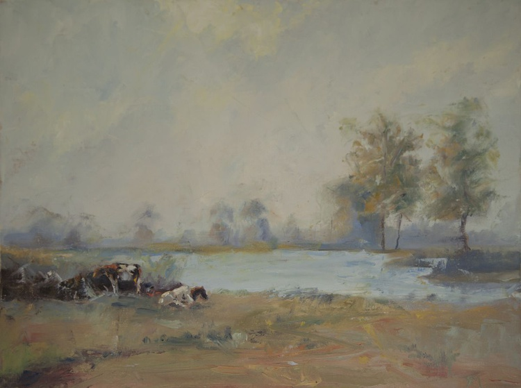 Cows In Summer - Image 0