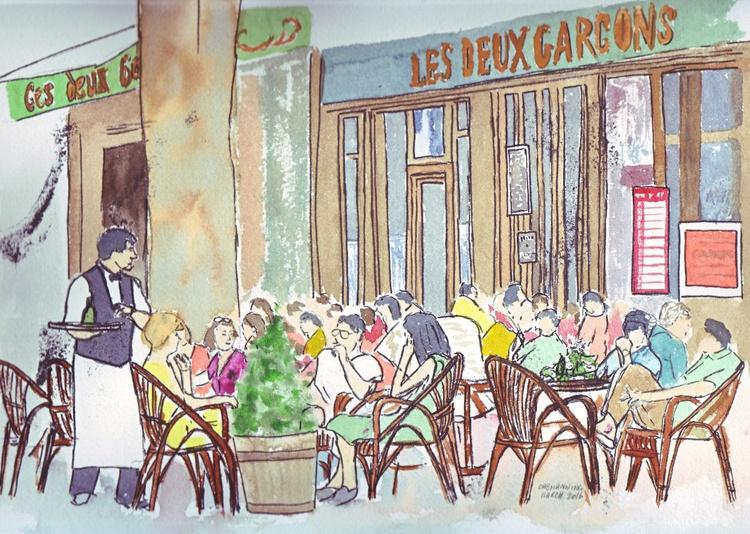 Images of France - Boulevard Cafe Life - Image 0