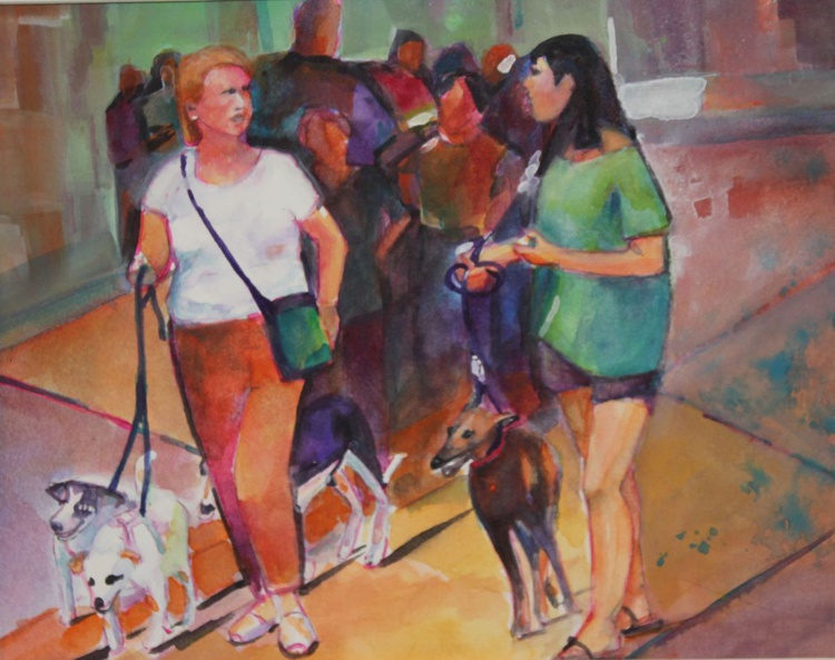 Walking the Dogs - Image 0