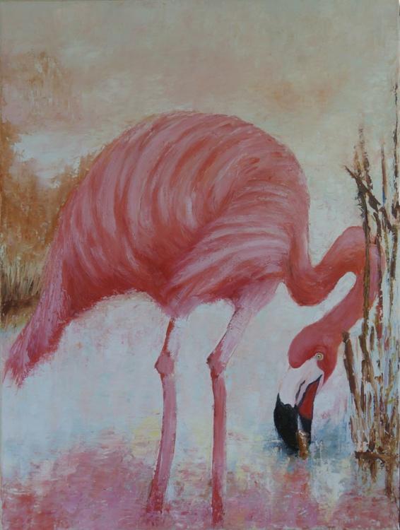 Dusty Pink Flamingo - Image 0