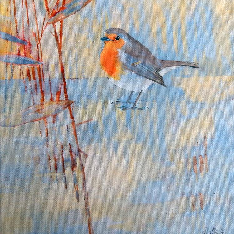 Robin in Winter - Image 0