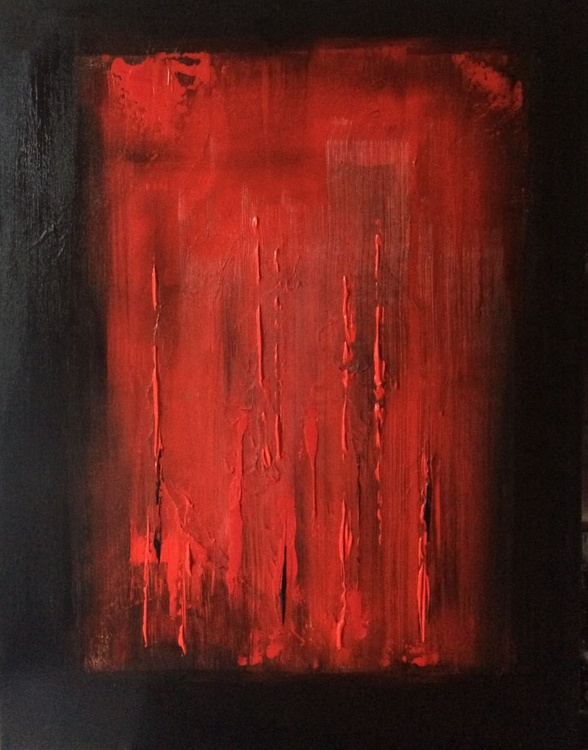 Passion , Acrylic Abstract Painting - Image 0