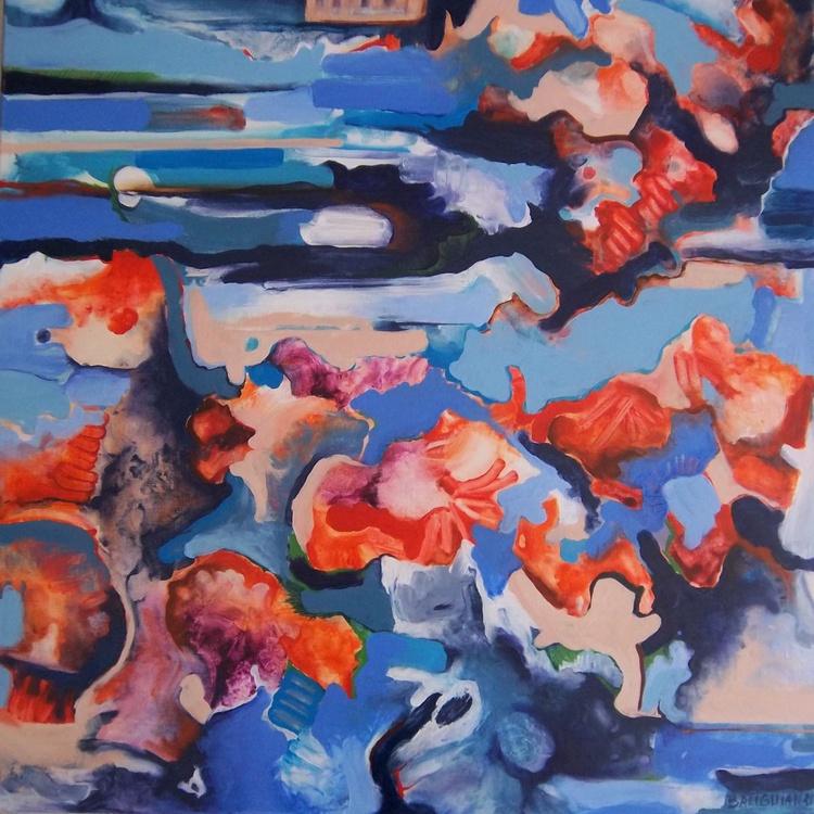Floating Petals, les pétales rouges - Image 0