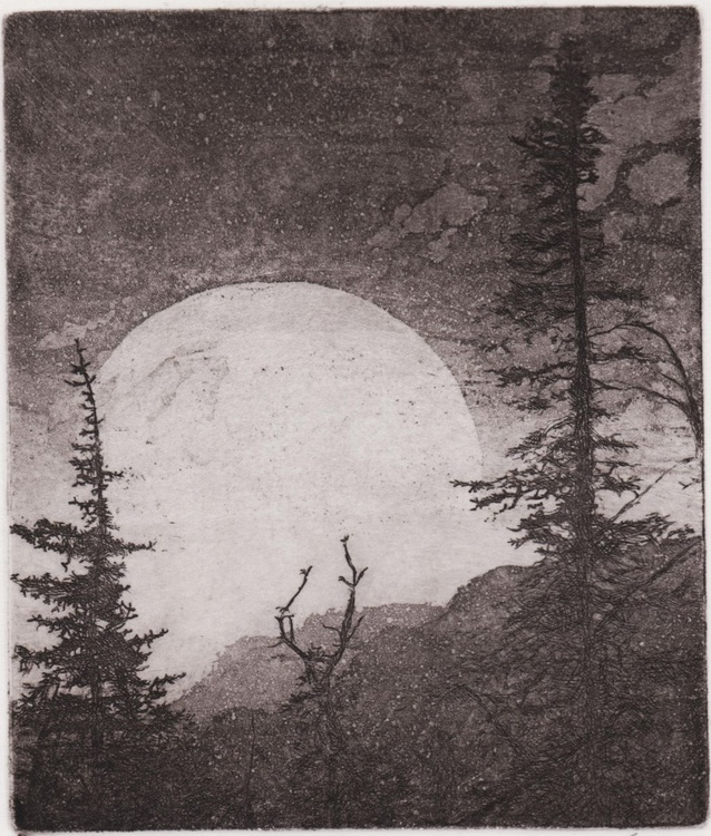 Moon Rise On The Gospels - Image 0