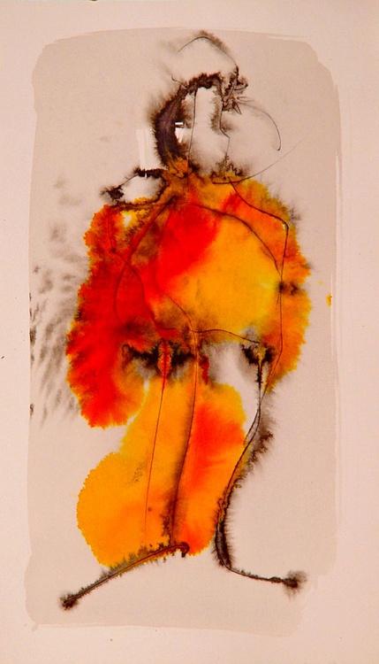 Thin Singer, 24x42 cm - Image 0