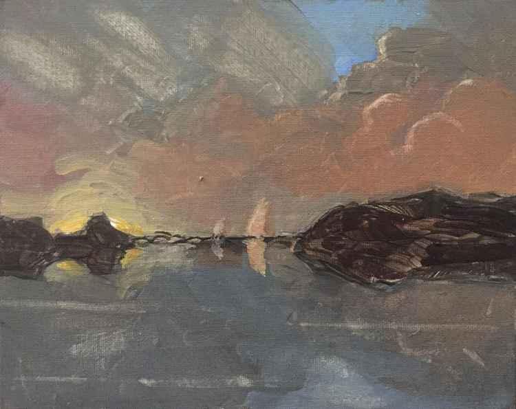 Sails Ablaze -