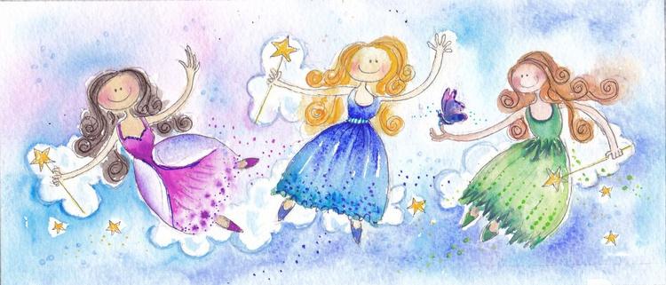 Three Fairies - Image 0