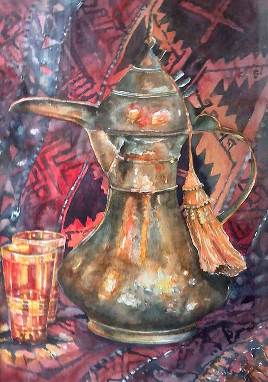 Moroccan coffee pot - Image 0