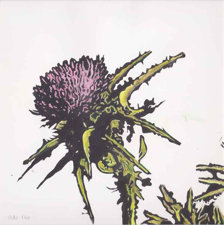 Spikes 7 - Scottish thistle -