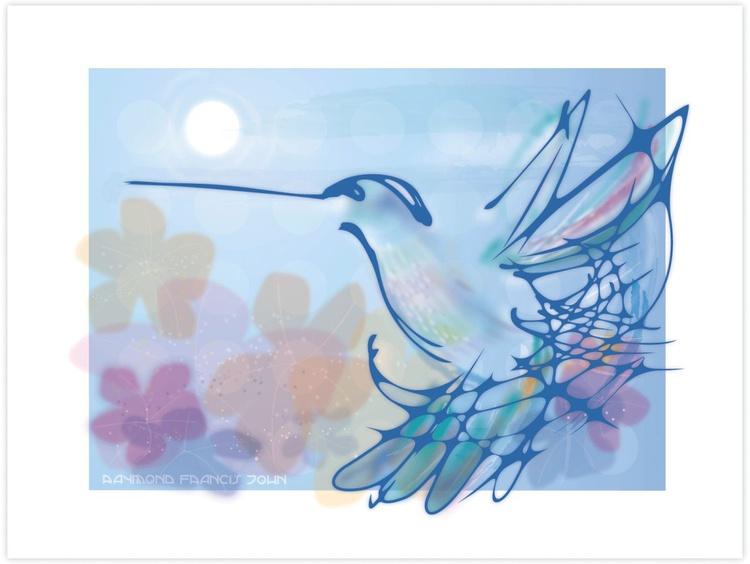 Blue Hummingbird - Image 0