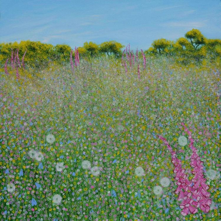 Foxgloves and Gorse - Image 0