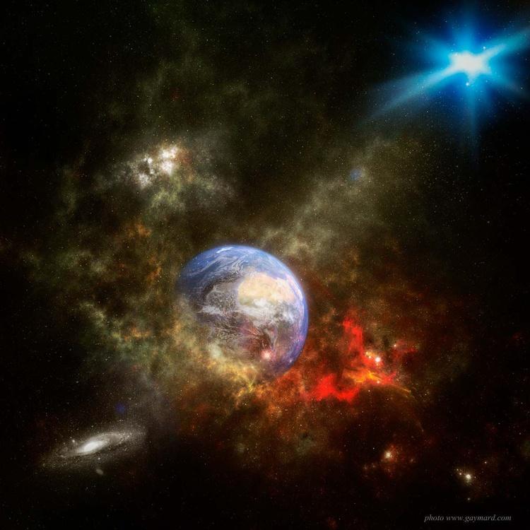 Earth and nebula - Image 0