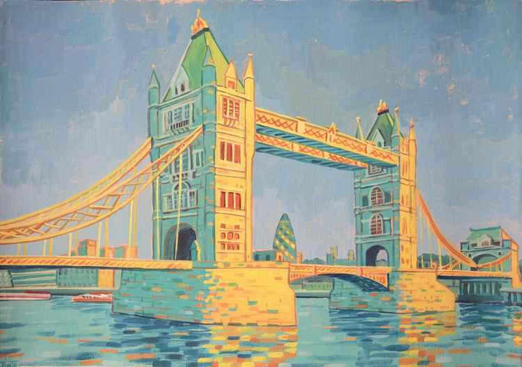 Tribute to Van Gogh, Tower Bridge London