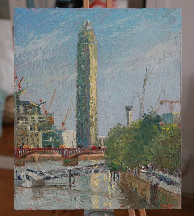 The Vauxhall Tower from Lambeth Bridge, London - Image 0
