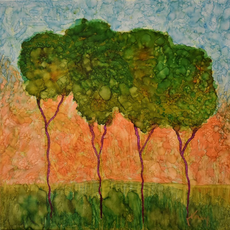 Trees in Ink - Image 0