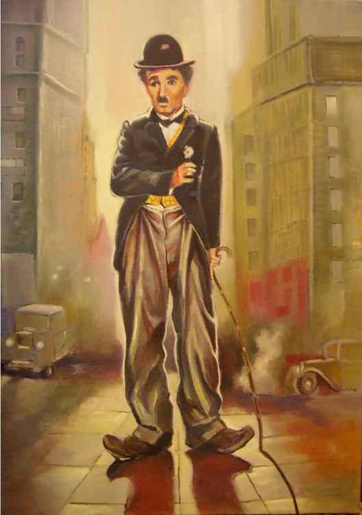 Charlie Chaplin - 60 x 80cm