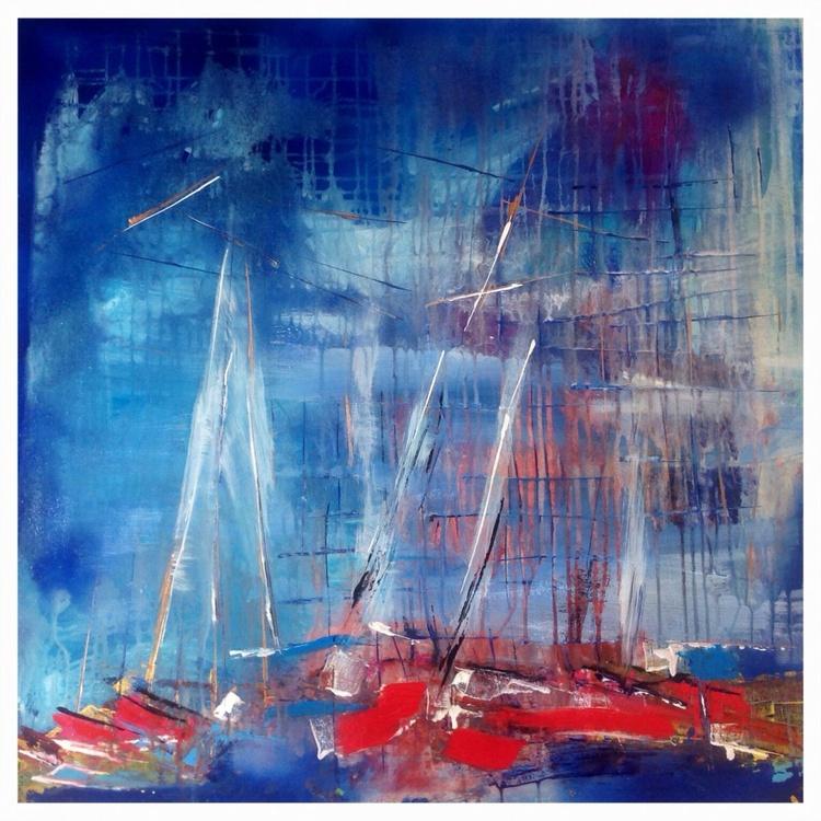 Abstract boats  - Image 0
