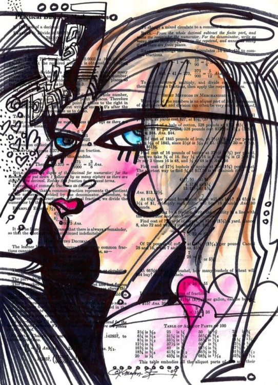 Daily Goddess Doodle No. 2 - Image 0