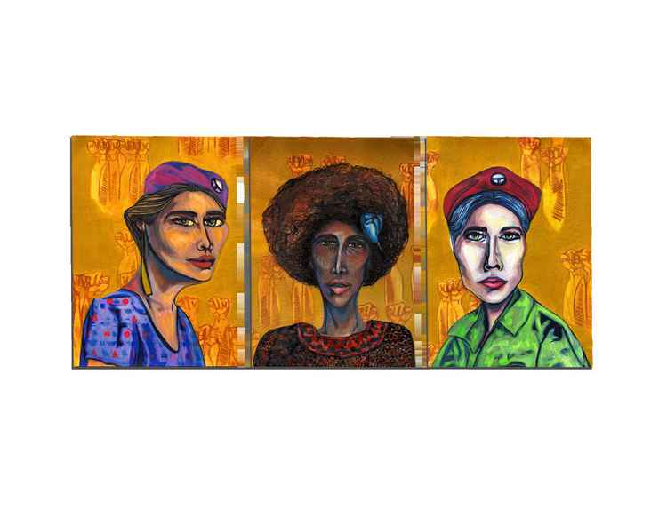 Women of the Lords Portraits (Young Lords Party Series) -