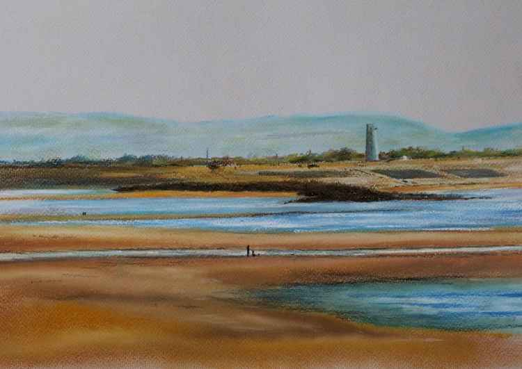 Leasowe Lighthouse  from New Brighton