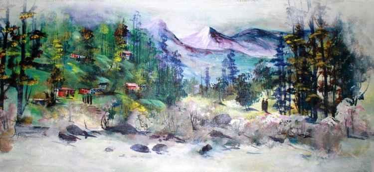 landscape painting atma