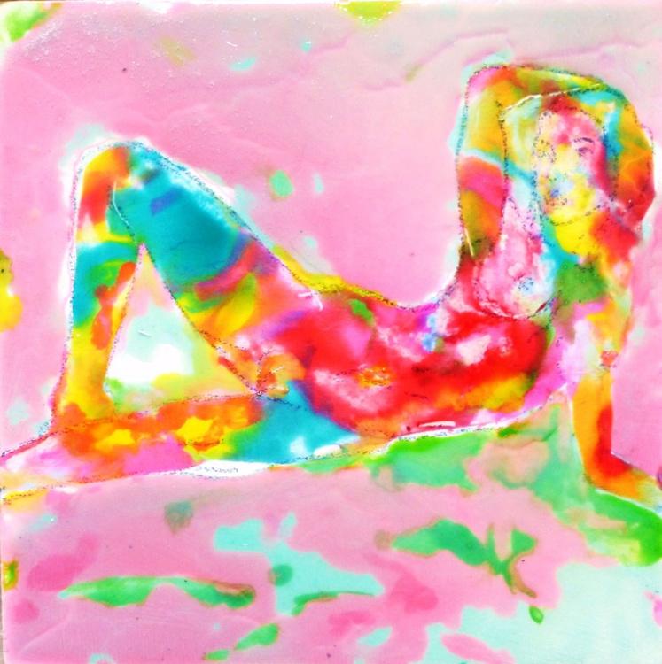Nude.  25x25cm - Image 0