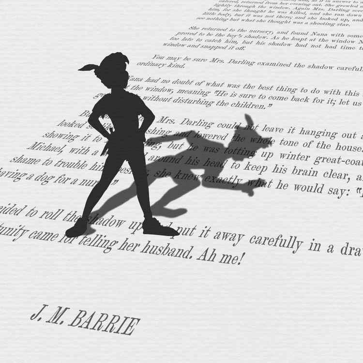 The Shadow (Monoprint)