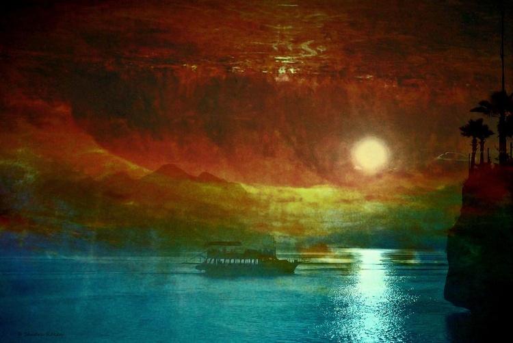 Magical Night - Canvas 75 x 50 cm - Image 0
