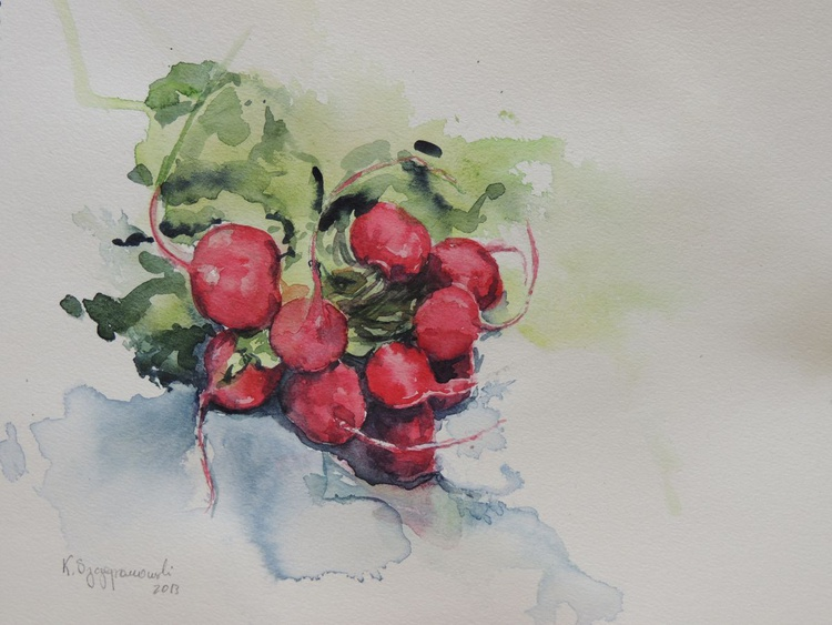 A bouquet of radishes - Image 0
