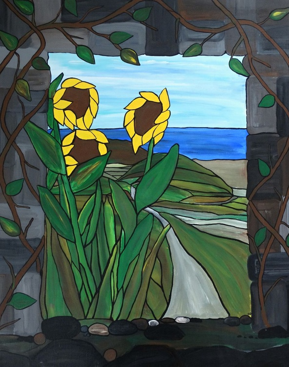Cape Cod Sunflowers - Image 0