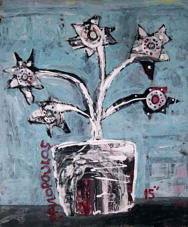 flower pot #1 -