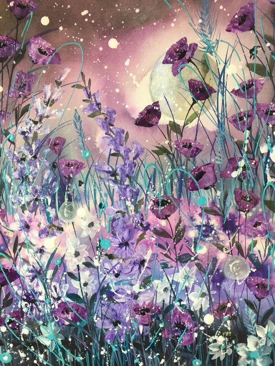 Purple moon - Image 0