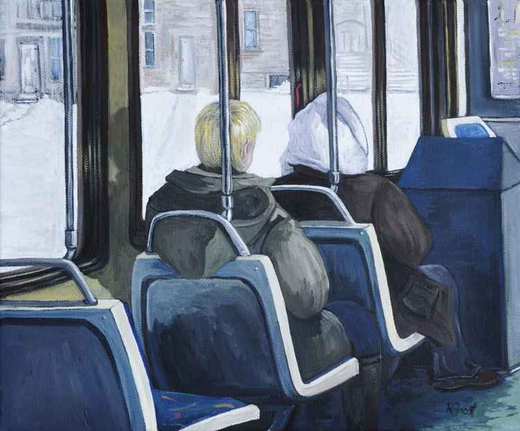 Morning Ride on the 107 Bus -