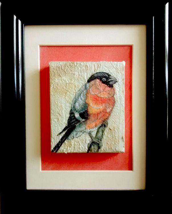 Original Watercolour - Bullfinch - Image 0