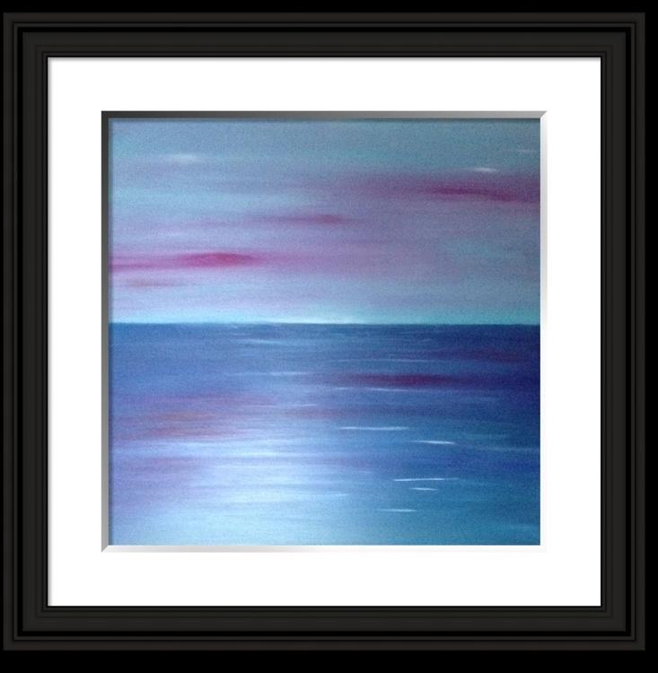 """Glistening Tide"" 24 x24 inch  acrylic on box canvas - Image 0"