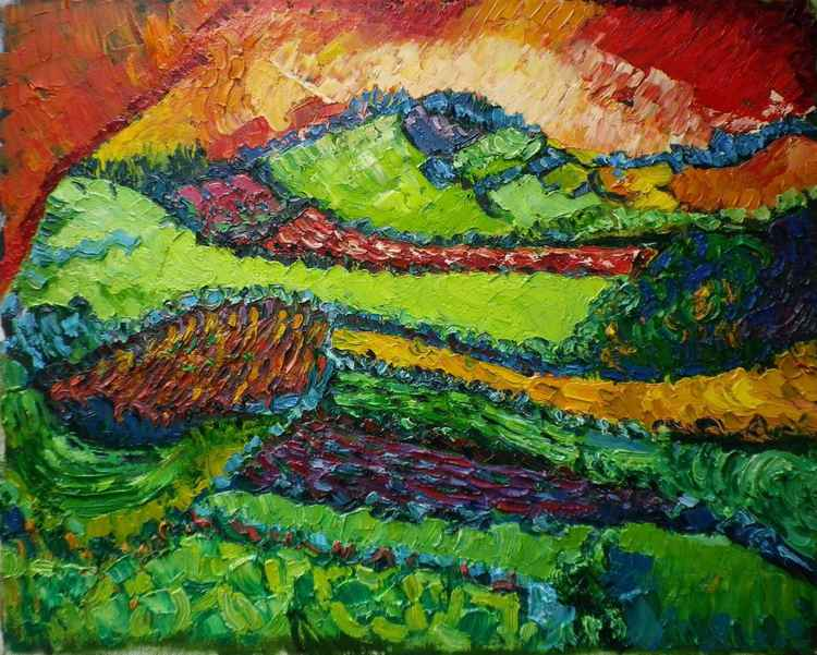 Cornish landscape, 80-09-20