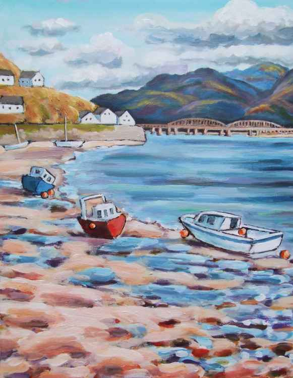 Boats at Barmouth Harbour -