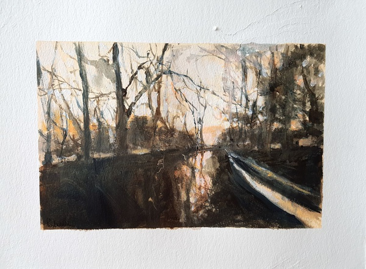 Misty Trees No.4 - Image 0