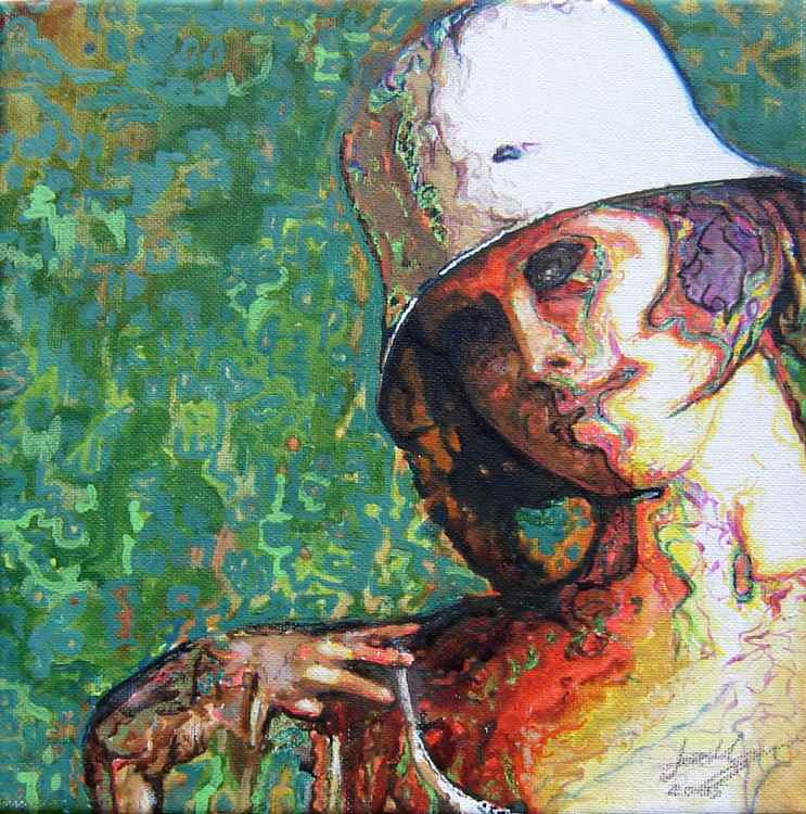 Girl in a Hat -